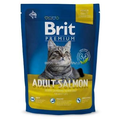 NEW Brit Premium Cat ADULT SALMON 1,5kg