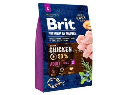 Brit Premium by Nature Adult S 3kg