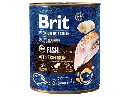 Brit Premium by Nature Fish with Fish Skin 800g